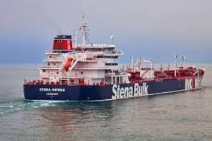 """Irã diz que apreendeu navio-tanque após colisão, Reino Unido considera decisão """"ato hostil"""