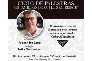 """Ciclo de palestras """"Os tambores de São Luís em debate""""apresenta caso da Baronesa de Grajaú"""