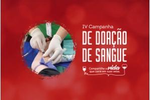 IV Campanha de Doação de Sangue realiza coleta no Edifício Clodomir Milet, nesta sexta 16
