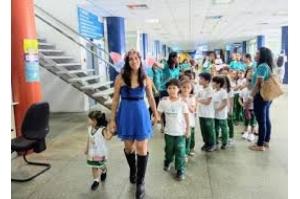 Detran-MA recebe alunos da educação infantil como atividade da Semana Nacional de Trânsito