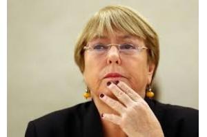 Bachelet diz que lamenta pelo Brasil sob comando de Bolsonaro