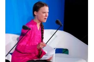 Vocês roubaram meus sonhos, diz Greta Thunberg a líderes mundais em cúpula do clima da ONU