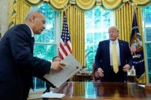 EUA e China chegam a acordo comercial parcial sobre compras agrícolas, moeda