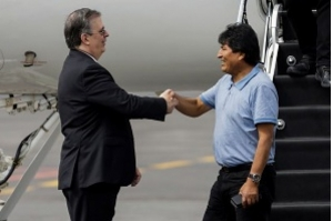 Evo Morales chega ao México e diz que houve golpe de Estado na Bolívia