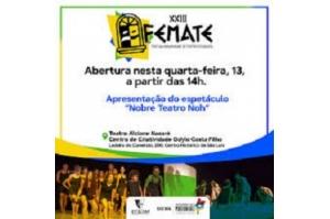 Festival Maranhense de Teatro Estudantil começa nesta quarta-feira (13)