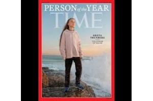 Ativista Greta Thunberg é escolhida Personalidade do Ano pela Times