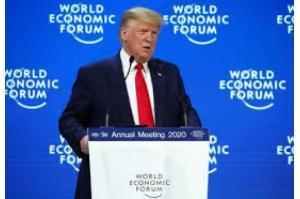 Trump elogia sucesso econômico dos EUA enquanto começa julgamento do impeachment