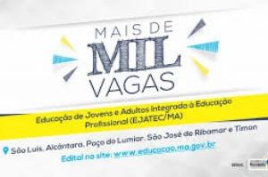 Governo do Maranhão abre mais de 1.000 vagas para educação profissional a partir do EJA