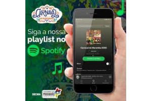 Playlist do Carnaval do Maranhão 2020 está disponível no Spotify