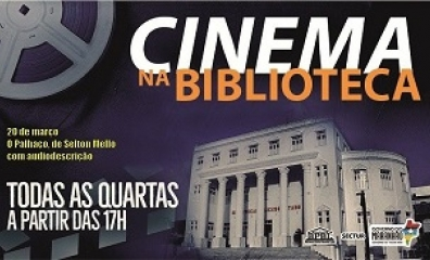 Filme O Palhaço será exibido com recursos de acessibilidade na Biblioteca Benedito Leite