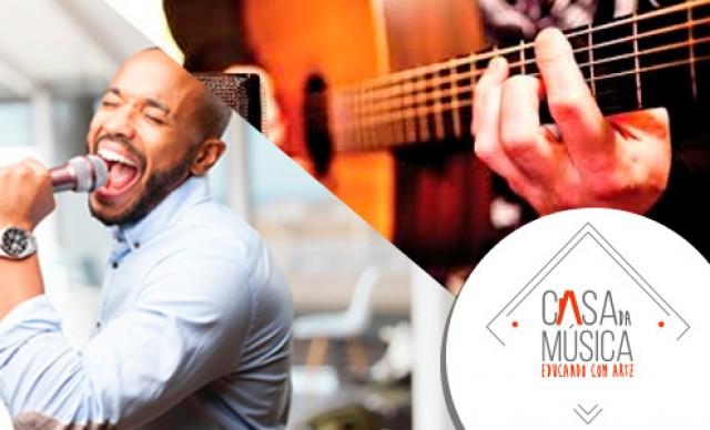 Curso de Música (6 meses) – Canto Popular ou Violão, na Casa da Música. De R$ 150,00 por R$ 97,50.