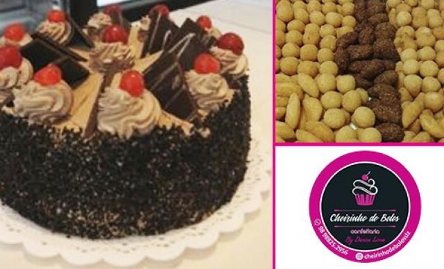 Torta de 3,5 + 200 salgados Por R$ 200,00