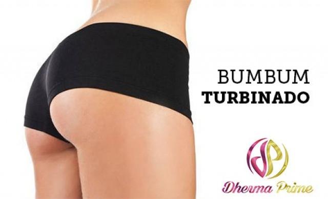 Bumbum Turbinado com Pump Up + Corrente Aussie + Estimulação com Alteres + Massagem Modeladora + DMAE. De R$ 190,00 por R$ 49,40.