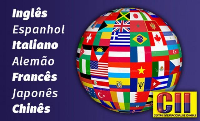 Curso de Língua Estrangeira 1 Ano  – 7 Opções (Inglês, Espanhol, Italiano, Alemão, Francês, Japonês e Chinês). De R$ 188,27 por R$ 99,78.