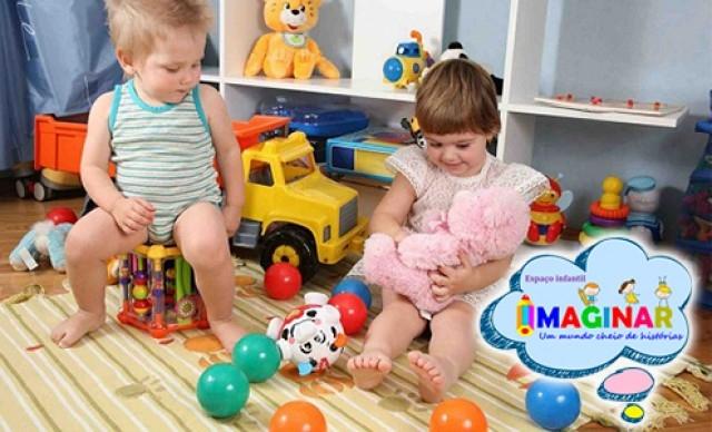 Matrícula Creche Integral , na Imaginar Creche Escola. De R$ 1.350,00 por R$ 553,50.