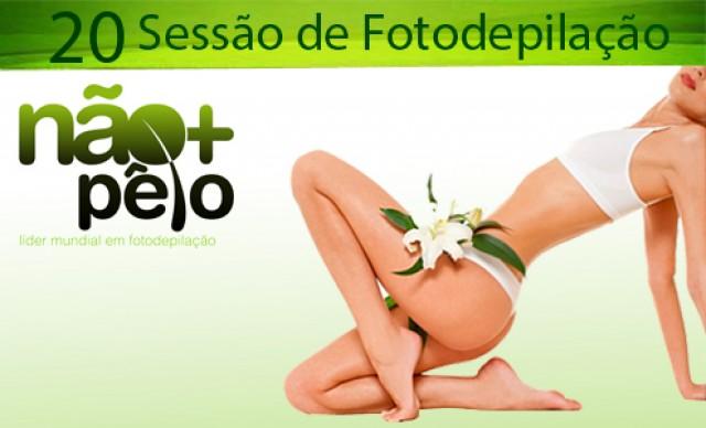 20 Sessões de Fotodepilação na Não + Pêlo Cohatrac ! De R$ 1.980,00 por R$ 990,00.